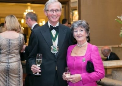 Edward Middleton FCA and wife Rosemary - NIOS