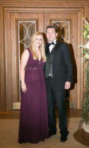 Joanne and Clive Fulton at Gala Ball - NIOS