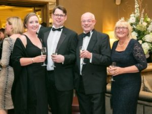Laura Peter Armstrong with Tom Zoe Capper at Gala Ball - NIOS