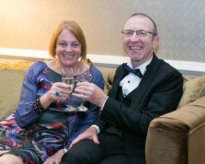 Martin and Teresa Crowe at Gala Ball - NIOS