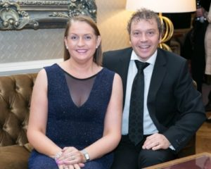 Patricia and Milo Murray at Gala Ball - NIOS