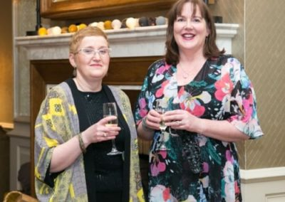 Roisin McGuinness and Karen Breslin at Gala Ball - NIOS