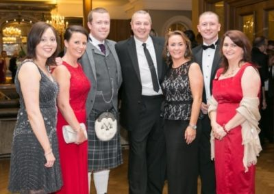 Specsavers Directors and staff at Gala Ball - NIOS