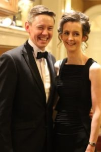 Michael and Shelley Foster at Gala Ball - NIOS
