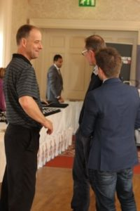 Exhibitors at NIOS conference - NIOS