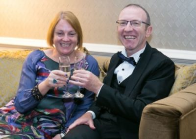 Martin and Teresa Crowe at Gala Ball - NIOS