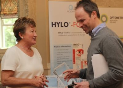 Exhibitors at NIOS conference - NIOS